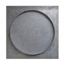 Square to Round Double Sealed & Locking Screeder Manhole Cover450x46mm