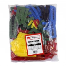 Timco Assorted Plastic SHIMS 200pc (1 to 6mm)