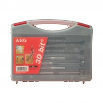 AEG 4PC 3D Bit Set (multi-directional drill-bits)
