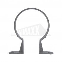 110mm Solvent Grey Omega Pipe Clip
