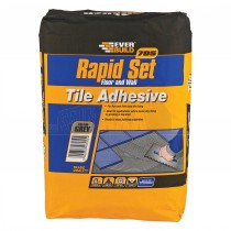 Everbuild 705 Rapidset Floor & Wall Tile Adhesive Grey 20Kg