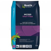 Bostik MC250 Vitri-Flex Rapid Set Flexible Wall Floor Tile Adhesive GREY 20Kg