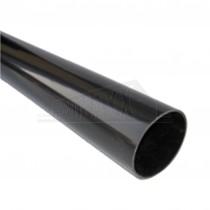 Round 68mm Downpipe 4m Black