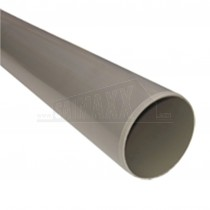 110mm Solvent Olive Grey Soil Pipe 3m