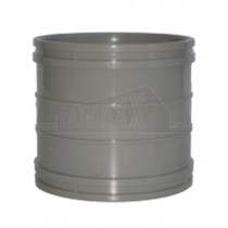 110mm Solvent Grey Coupling (Straight Joint)