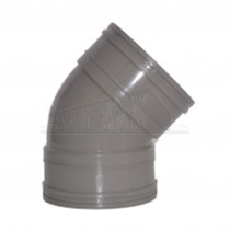 110mm Solvent Grey Bend 45 degree Double Socket