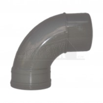 110mm Solvent Grey Bend 92.5 degree Single Socket