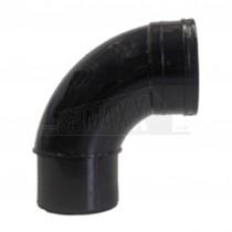 110mm Solvent Black Bend 92.5 degree Single Socket