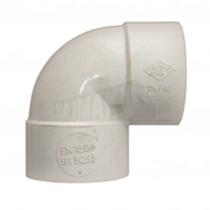 40mm 90 Deg Bend Solvent White Each