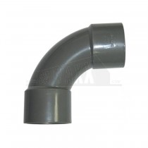 32mm 92.5 Deg Bend Solvent Grey Each