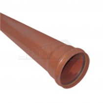 Underground 160mm 3m Pipe Socketed