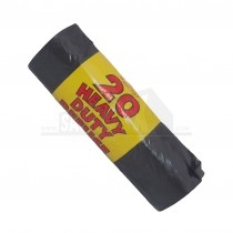 Refuse Sacks 20 Roll Black Bags