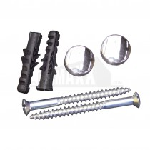 JCP Toilet Pan Fixings M8 x 40mm (Pair) with Chromed Caps