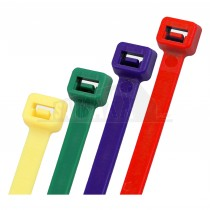 Cable Ties MIXED Colours - 4.8mm x 200mm 200pcs