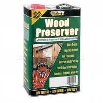 Everbuild Wood Preserver 1L CLEAR