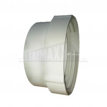 100mm Round Duct Threaded PVC Hose Connector Spigot ended 4124MBAG