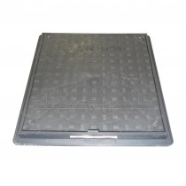 220-300mm Square to Round PPIC Polypropylene Plastic Locking Inspection Cover