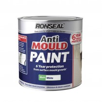 Ronseal ANTI MOULD Paint 2.5L White Matt
