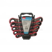 Hilka 5pc Ratchet Ring Spanners with Rack