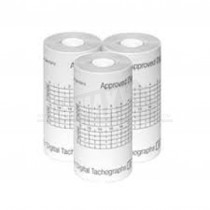 Thermal Rolls for Digital Tachographs 57mm x 26mm Dia 8m Coreless 3pc