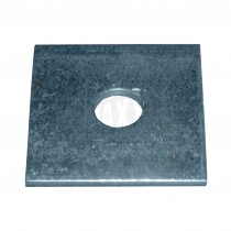 Square Plate Washer Galvanised M12 (50 x 50 x 3mm) 50pc