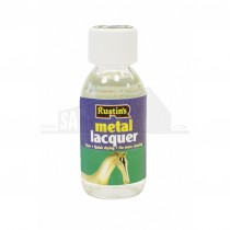 Rustins Clear Metal Lacquer 125ml
