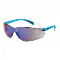 OX Safety Glasses BLUE MIRROR Finish