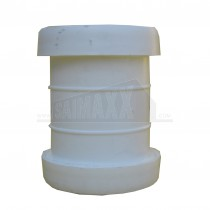 """Push Fit Waste White 1.5"""" Straight Coupling"""