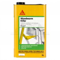 Sika Woodworm Killer 5L Clear (Solvent Free)