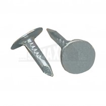 "Pre-Packed 0.5"" Galvanised Extra Large Head Clout Nails 13 x 3mm 500g"