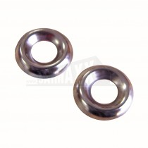 Screw Cup Washers No. 8 Nickel Plated 200pk