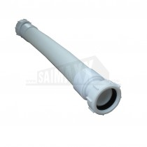 "Extendable FLEXI Waste Pipe 1.1/2"" - 40mm - Connection 380-1000mm Long"