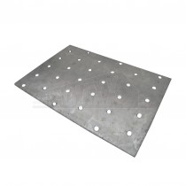 Galvanised Nail Plate (Plate Punched with Holes) 100x150mm