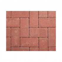 Standard Concrete Block Paving (200x100mm) 50mm Thickness RED