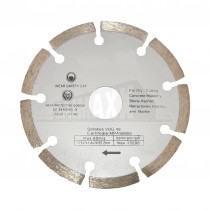 Pro User 115mm Diamond Cutting Disc (Dry Cutting)