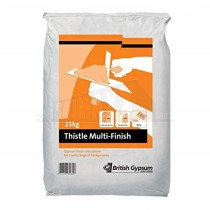 British Gypsum Thistle Multi-Finish Plaster 25Kg Bag