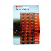 Kingavon 30pc Assorted Battery Set