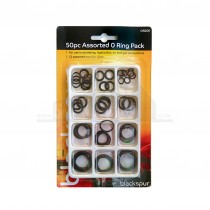 Blackspur 50pc Assorted O Ring Pack