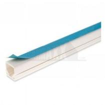 Dietzel 16 x 16mm x 3m Mini Trunking SELF ADHESIVE (with BLUE TAPE)