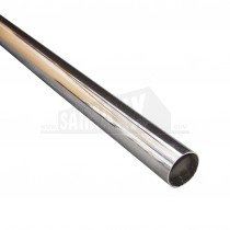 19mm x 3ft Chrome Plated Round Steel Tubing