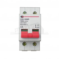 CPN Consumer Unit Main Switch Isolator 2 Double Pole 100 Amp