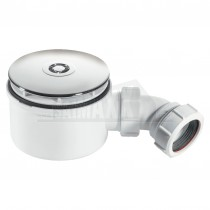 McAlpine 90mm (19mm Seal) Shower Trap Chromed Mushroom ST90CP10-70