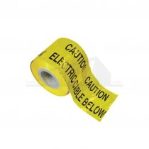 "Underground Barrier Tape ""ELECTRIC CABLE BELOW"" 150mm x 365m Roll"