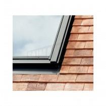 Velux Plain Plain Tile Flashing (Upto 15mm) EDP CK02 0000 55x78cm