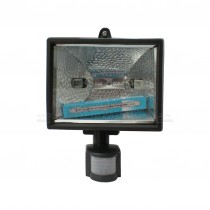 Kingavon 1pc 500w Halogen Flood Light with PIR Motion Sensor