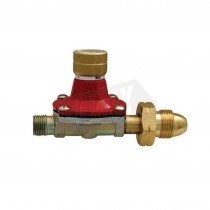 Gas Regulator (suits Butane or Propane Cylinders) 0.5 to 4 Bar