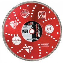 "Spectrum TU12 Diamond Cutting Disc 230mm (9"") 22mm Bore"
