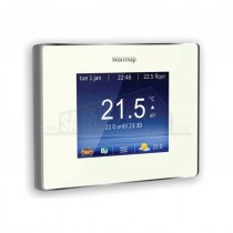 Warmup 4iE WiFi Programmable Smart Thermostat Bright Porcelain