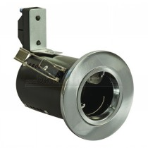 Eclipse 90 Min Fire Rated GU10 FIXED Downlight CHROME (Die Cast)