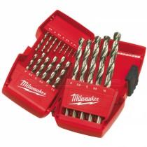 Milwaukee THUNDERWEB HSS Ground Drill Bit Set 19pc